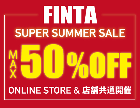 "FINTA MAX50%OFF ""SUPER SALE"""